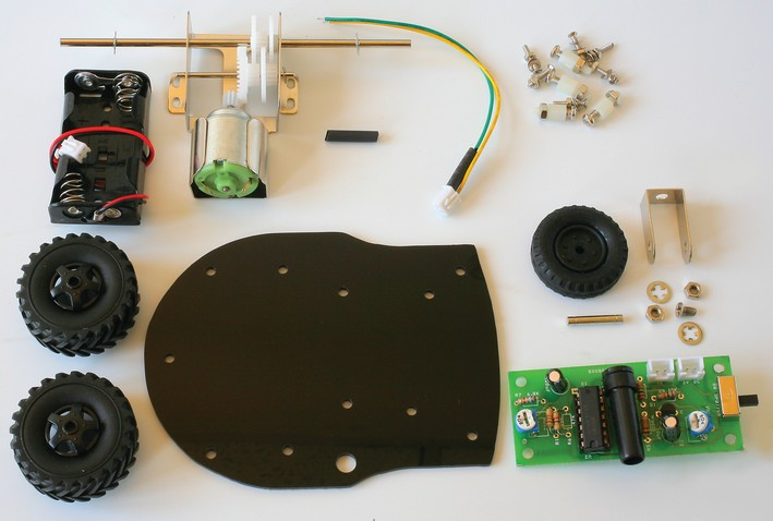 Composants robot light